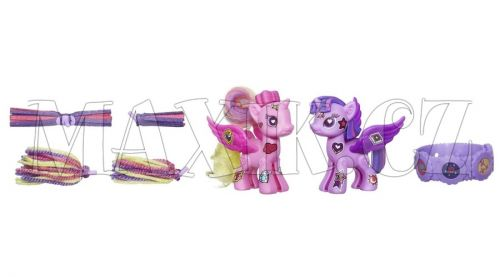 My Little Pony Pop Deluxe Style Kit Princess Twilight Sparkle a Princess Cadance cena od 299 Kč
