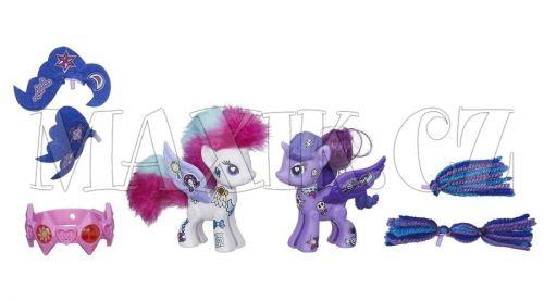 My Little Pony Pop Deluxe Style Kit Rarity a Princess Luna cena od 0 Kč