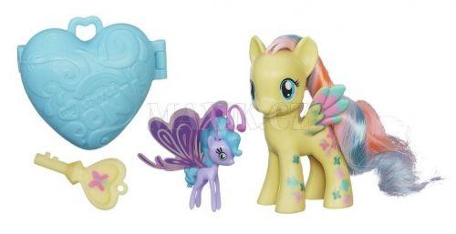 Hasbro My Little Pony poník s kouzelným klíčem a doplňky Sea Breezie cena od 289 Kč