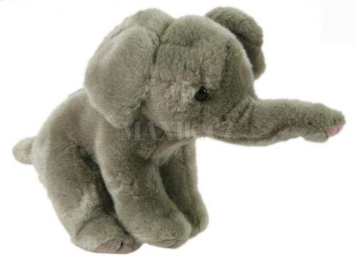Lamps Plyšový slon se zvukem 23 cm cena od 169 Kč