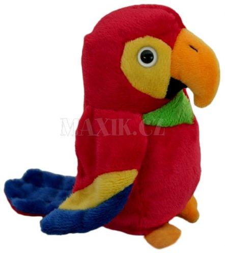 Lamps Plyšový papoušek 14 cm cena od 119 Kč