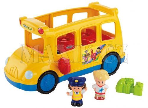 Fisher Price Little People Školní autobus cena od 0 Kč