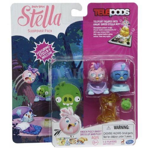 Hasbro Angry Birds figurky Telepods Stella s rampou Stella a Willow cena od 299 Kč