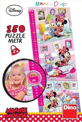 Minnie: Dětský metr - puzzle Panoramic 1 cena od 79 Kč