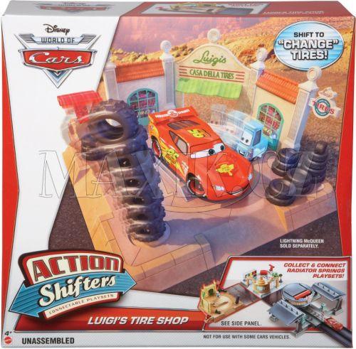 Mattel Cars Set pro údržbu aut cena od 475 Kč