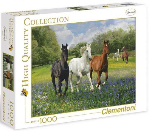 Clementoni Puzzle Koně