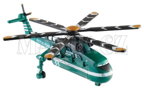 Mattel Planes Velká letadla hasiči a záchranáři Windlifter cena od 0 Kč