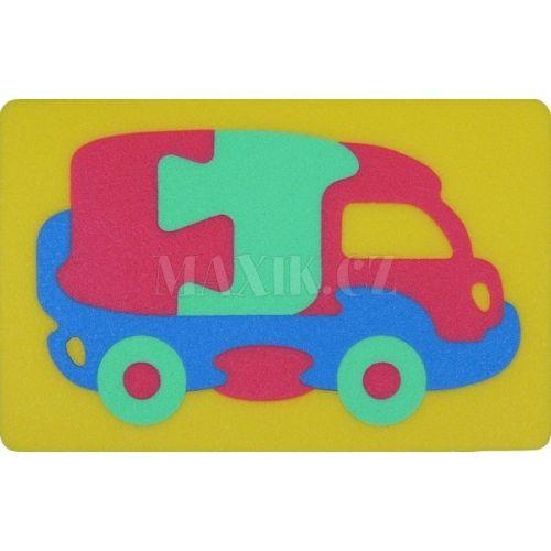 Malý Génius Pěnové puzzle Kamion 12 dílů cena od 59 Kč