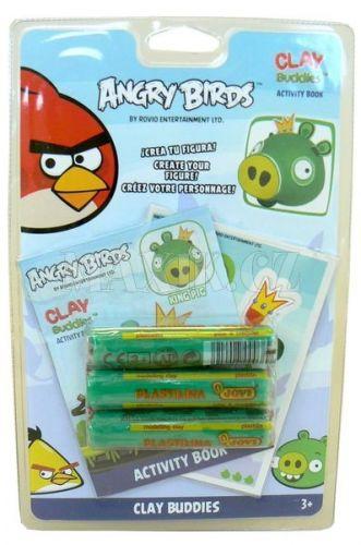 EPline Angry Birds Modelína blistr pack cena od 100 Kč
