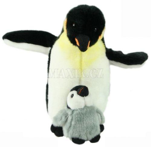Lamps Plyšový tučňák s mládětem 26 cm cena od 280 Kč