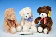 Teddies Medvěd s mašlí plyš 30 cm cena od 156 Kč
