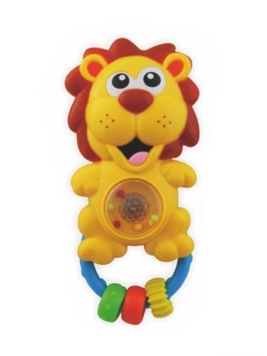 BABY MIX chrastítko lev