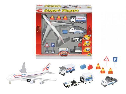 DICKIE D 3315465 Hrací set letiště cena od 242 Kč