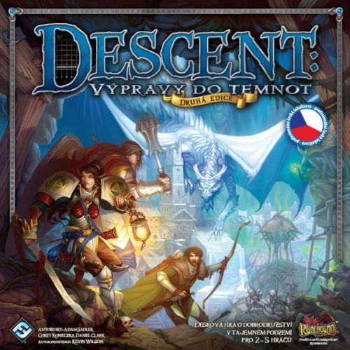 Fantasy Flight Games: Descent: Journeys in the Dark - druhá edice