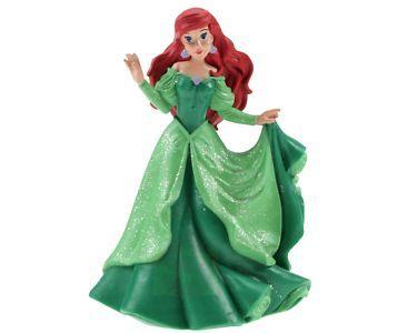 Bullyland Ariel v zelených šatech cena od 117 Kč
