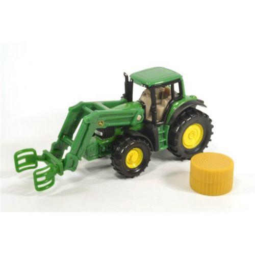 SIKU 1379 Blister Traktor s předním nakadačem