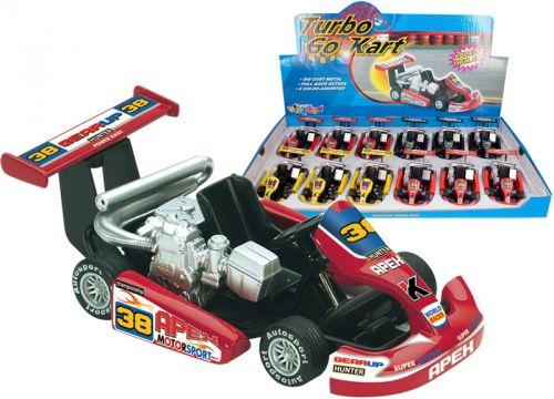 HM Studio 18HM5102 Turbo Go Kart cena od 90 Kč