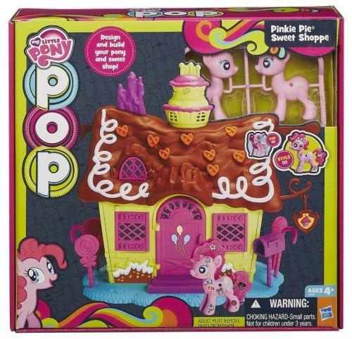 HASBRO My Little Pony Pop domeček hrací set cena od 0 Kč