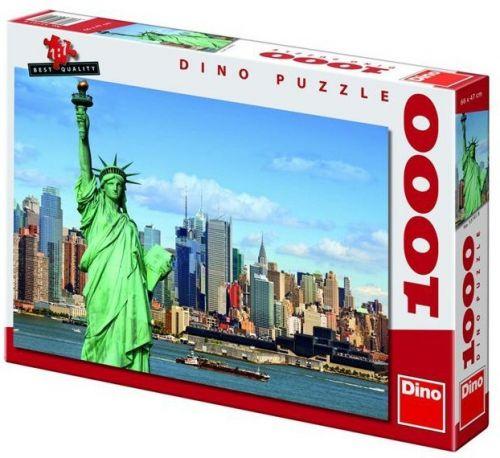 Socha Svobody - puzzle 1000 dílků