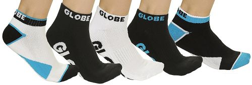 Globe Destroyer Ankle 5 Pack ponožky