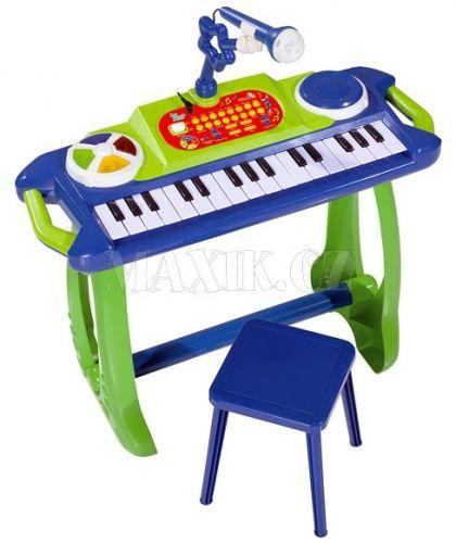 Simba Klávesy s mikrofonem a židličkou cena od 995 Kč