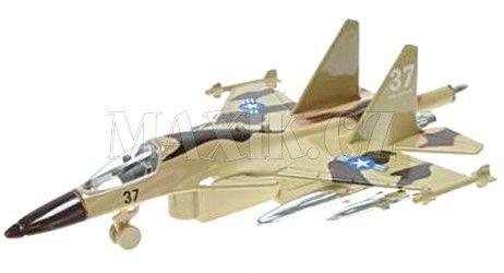 Teddies Letadlo vojenské se zvukem a světlem 19 cm cena od 113 Kč
