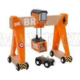 BRIO Konstrukční jeřáb cena od 448 Kč