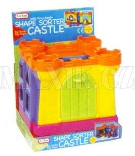 Teddies Vkládačka hrad cena od 0 Kč