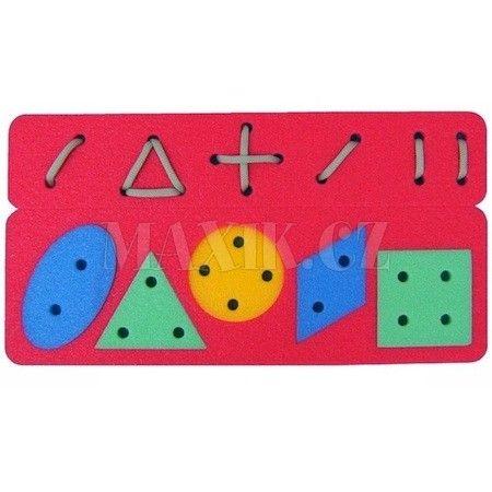 Malý Génius Geometrické šněrování cena od 49 Kč