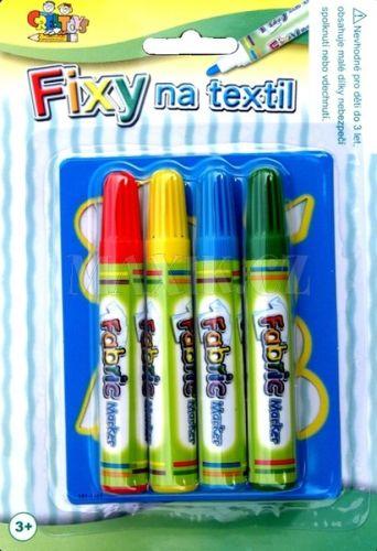 Teddies Fixy na textil + šablona cena od 0 Kč