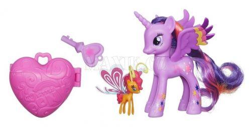 Hasbro My Little Pony poník s kouzelným klíčem a doplňky Sunset Breezie cena od 0 Kč