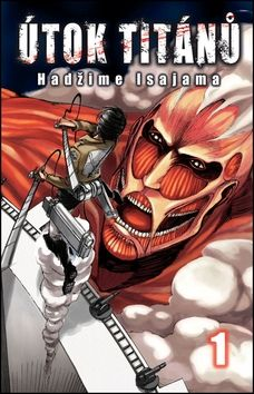 Isajama Hadžime: Útok titánů 1 cena od 162 Kč