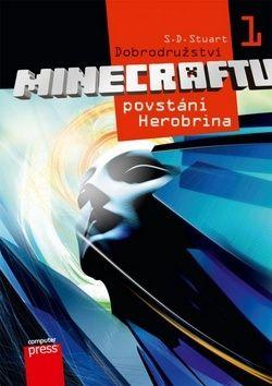 S.D. Stuart: Dobrodružství Minecraftu 1 - Povstání Herobrina cena od 110 Kč