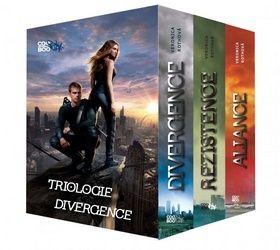 Veronica Roth: Divergence BOX cena od 713 Kč