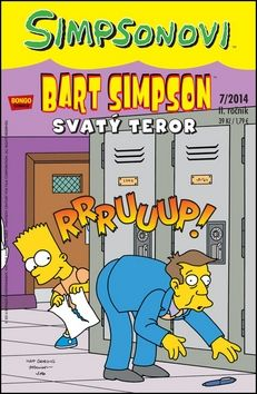 Matt Groening: Bart Simpson 2014/07: Svatý teror cena od 29 Kč