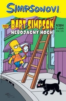 Gail Simone, Jason Ho, Jesse Leon McCann, Amanda McCann, Luis Escobar, James W. Bates: Simpsonovi - Bart Simpson 9/2014 - Nebojácný hoch cena od 28 Kč