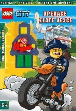 Kolektiv: LEGO® CITY Operace Zlaté vejce cena od 145 Kč