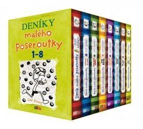 Jay Kinney: Deník malého poseroutky BOX 1-8 cena od 969 Kč