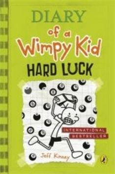 XXL obrazek Jay Kinney: Diary of a Wimpy Kid: Hard Luck (Book 8)