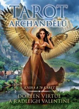 Valentine Radleigh, Doreen Virtue: Tarot archandělů cena od 336 Kč