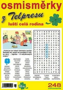 Mazáč Pavel: Osmisměrky z Telpresu luští celá rodina 2/2014 - 248 osmisměrek cena od 34 Kč