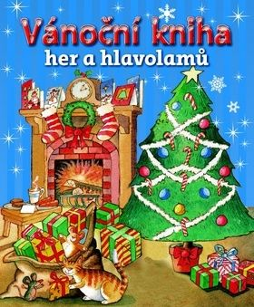 Vánoční kniha her a hlavolamů cena od 80 Kč