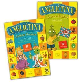 Balíček Angličtina s Jankom Hraškom zelený a modrý zošit cena od 64 Kč