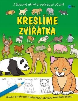 Kreslíme zvířátka cena od 90 Kč