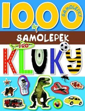 1000 samolepek pro kluky cena od 79 Kč