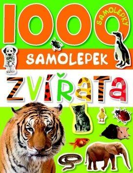 1000 samolepek zvířata cena od 64 Kč