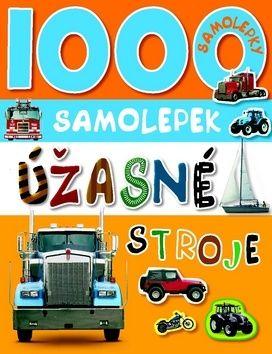 1000 samolepek - Úžasné stroje cena od 0 Kč