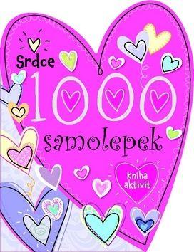 1000 samolepek Srdce cena od 55 Kč
