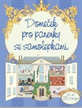 Elisabetta Ferrero: Domeček pro panenky se samolepkami cena od 67 Kč