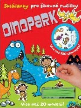Skládanky pro šikovné ručičky Dinopark cena od 79 Kč